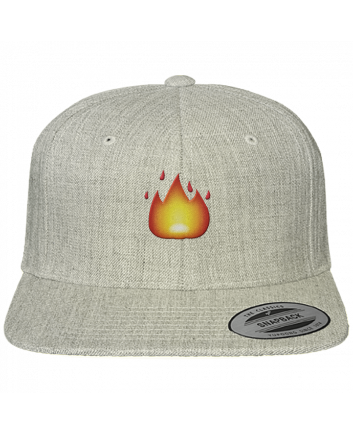 Snapback cap classique Fire by tunetoo by tunetoo