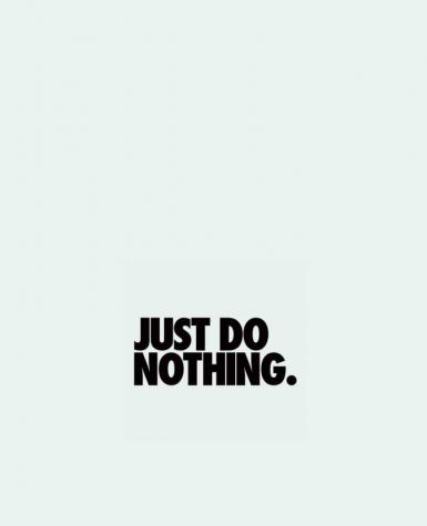 Tote Bag cotton Just Do Nothing by Freeyourshirt.com