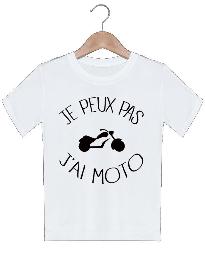 T-shirt garçon motif Je Peux Pas J'ai Moto Freeyourshirt.com
