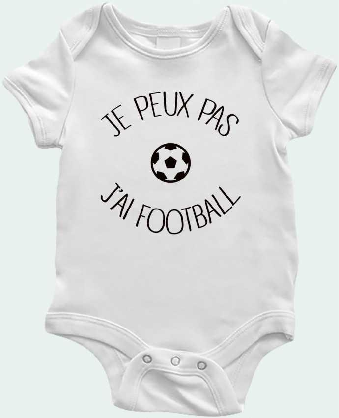 Baby Body Je peux pas j'ai Football by Freeyourshirt.com