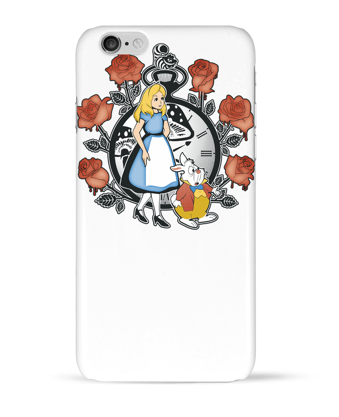 Case 3D iPhone 6 Time for Wonderland by Kempo24