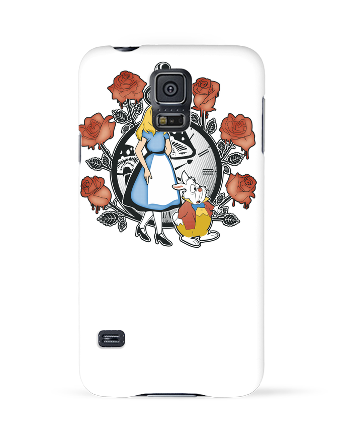 Case 3D Samsung Galaxy S5 Time for Wonderland by Kempo24