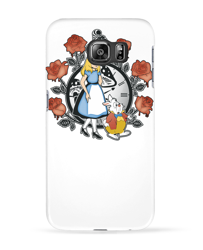 Case 3D Samsung Galaxy S6 Time for Wonderland - Kempo24