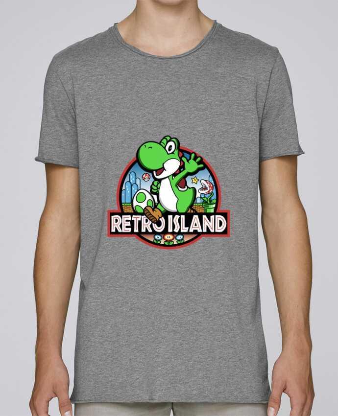 T-shirt Men Oversized Stanley Skates Retro Park by Kempo24