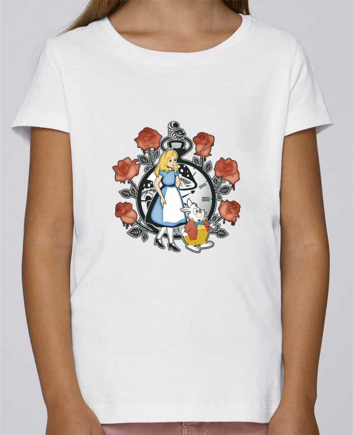 T-shirt Women Stella Draws Time for Wonderland by Kempo24