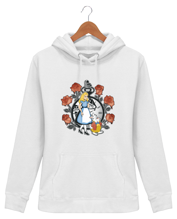 Hoodie Women Time for Wonderland - Kempo24