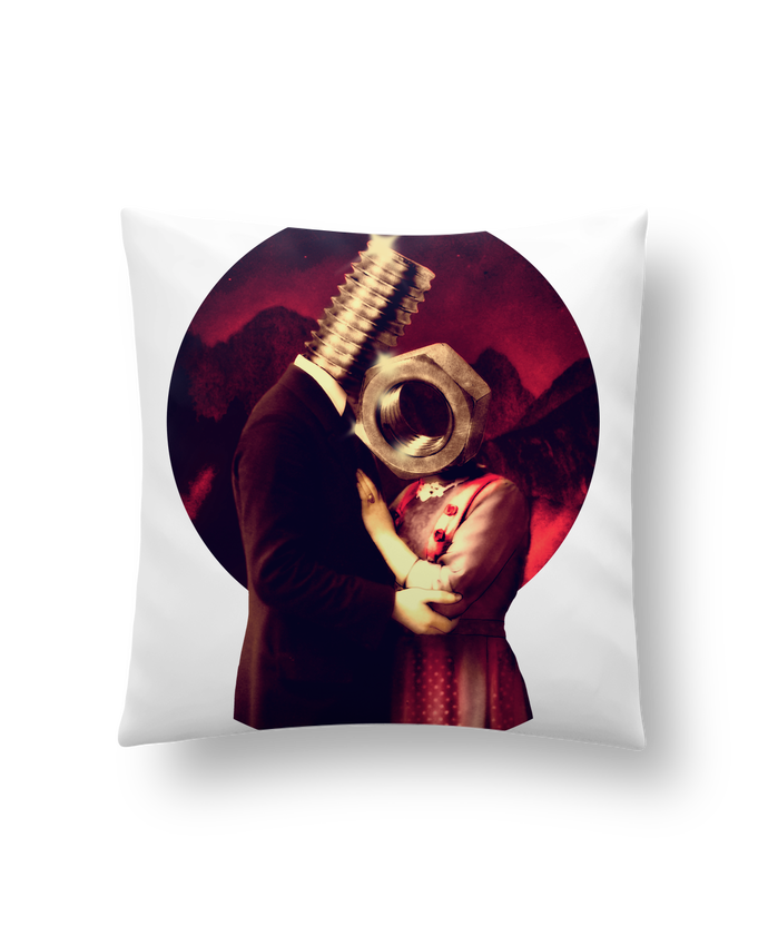 Cushion synthetic soft 45 x 45 cm Screw Love by ali_gulec