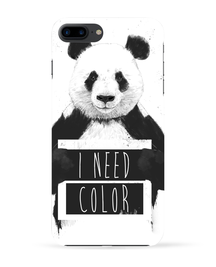Case 3D iPhone 7+ I need color by Balàzs Solti