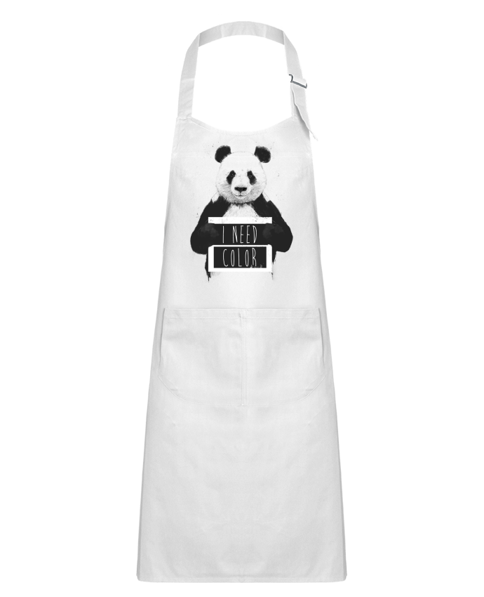 Kids chef pocket apron I need color by Balàzs Solti