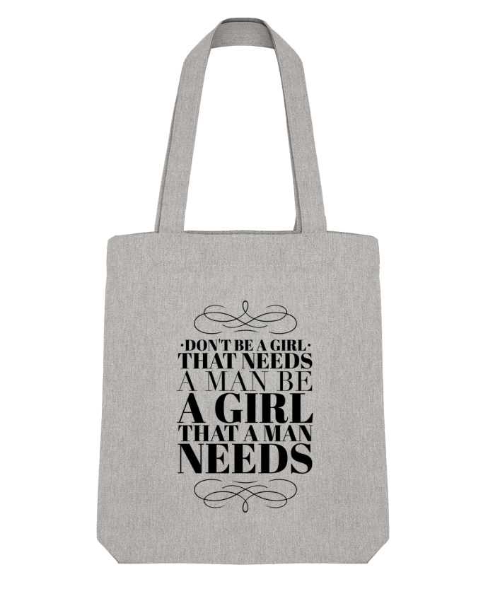 Tote Bag Stanley Stella Don't be a girl by Les Caprices de Filles