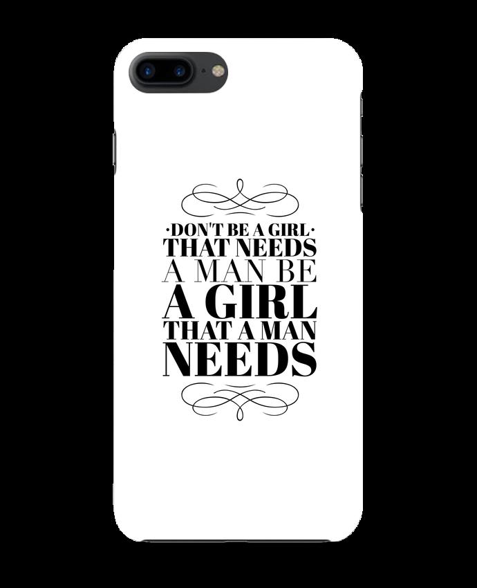 Case 3D iPhone 7+ Don't be a girl by Les Caprices de Filles