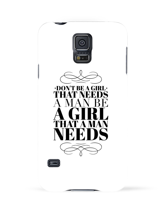 Case 3D Samsung Galaxy S5 Don
