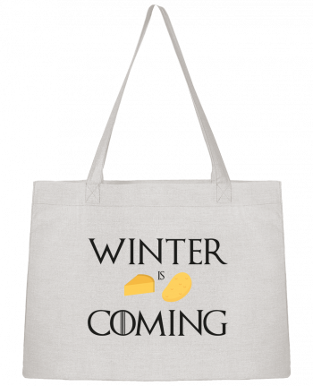 Shopping tote bag Stanley Stella Winter is coming by Ruuud