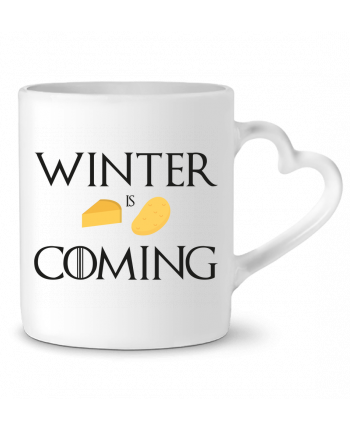 Mug Heart Winter is coming by Ruuud
