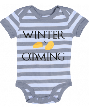 Baby Body striped Winter is coming - Ruuud