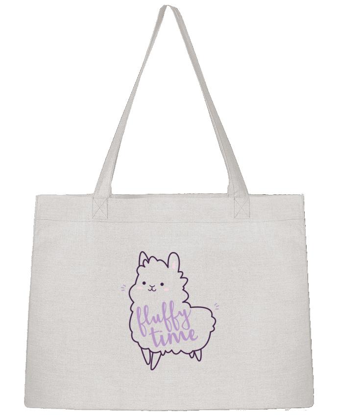 Shopping tote bag Stanley Stella Fluffy Time by Nana
