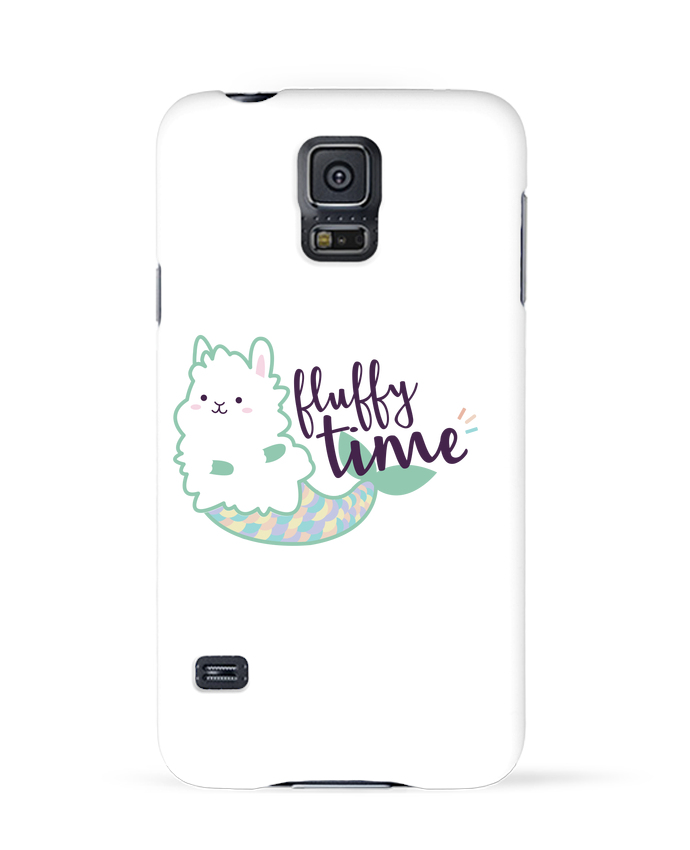 Case 3D Samsung Galaxy S5 Mermaid Fluffy by Nana