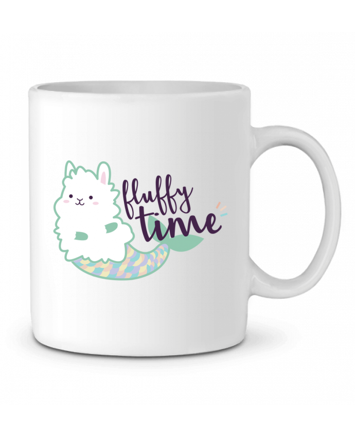 Ceramic Mug Mermaid Fluffy by Nana