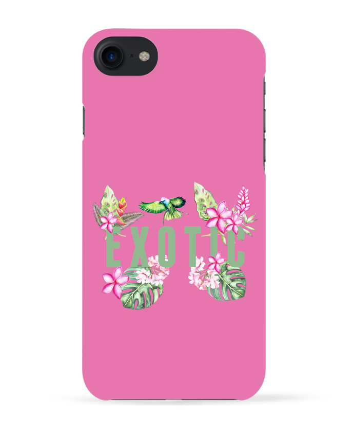 Case 3D iPhone 7 Exotic de Les Caprices de Filles