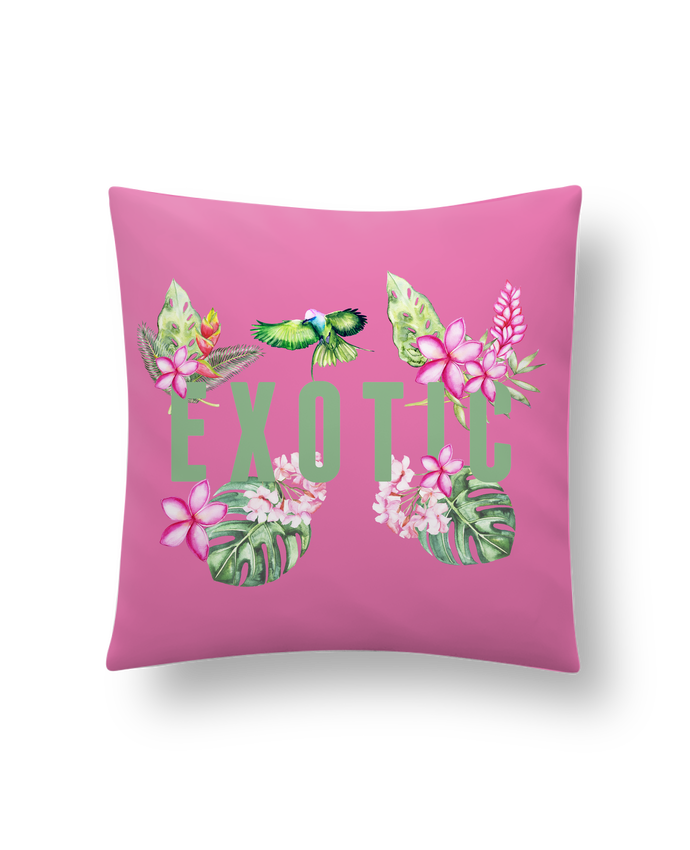 Cushion synthetic soft 45 x 45 cm Exotic by Les Caprices de Filles
