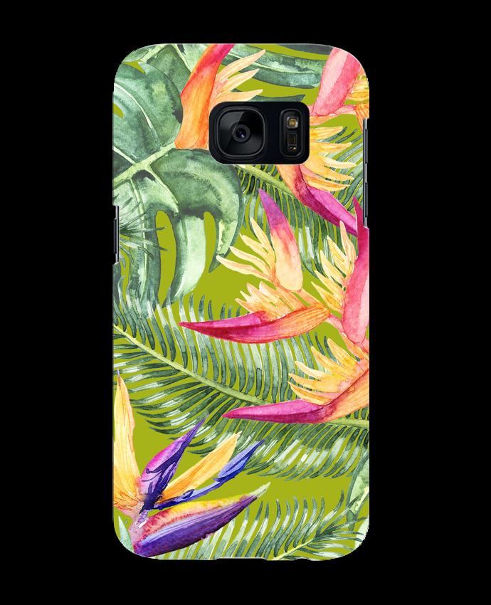 Case 3D Samsung Galaxy S7 Fleurs exotiques by Les Caprices de Filles