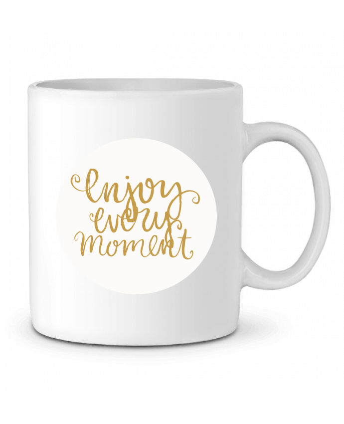 Ceramic Mug Enjoy every moment by Les Caprices de Filles
