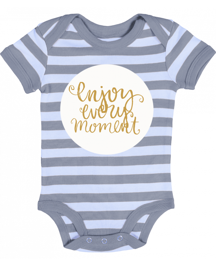 Baby Body striped Enjoy every moment - Les Caprices de Filles