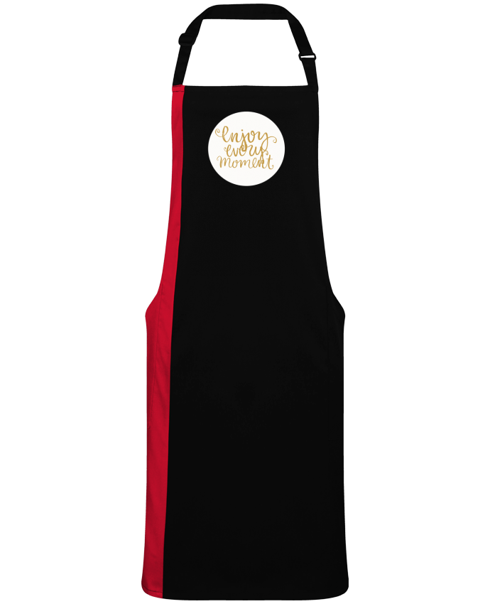 Two-tone long Apron Enjoy every moment by  Les Caprices de Filles