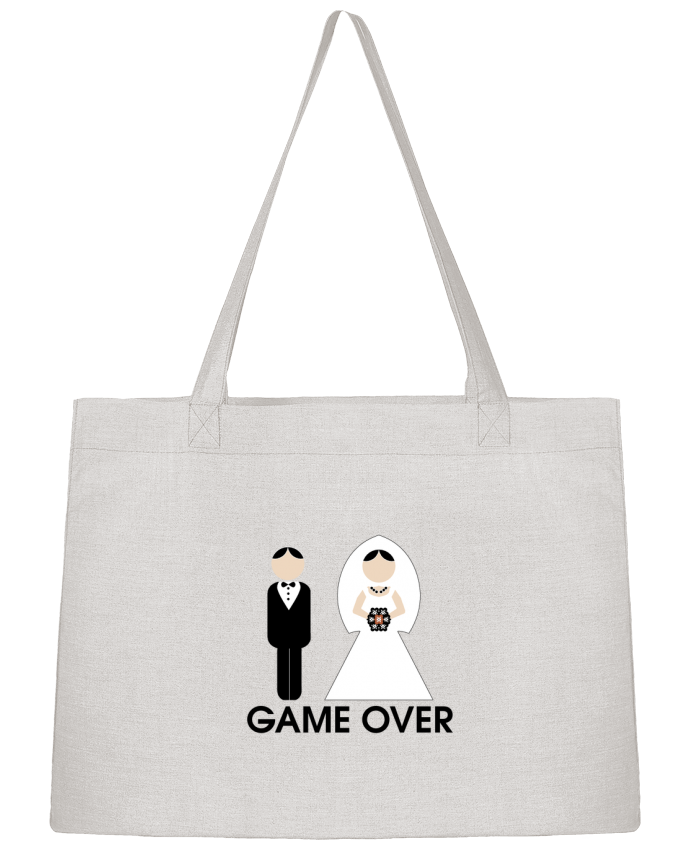 Shopping tote bag Stanley Stella game over mariage by DUPOND jee