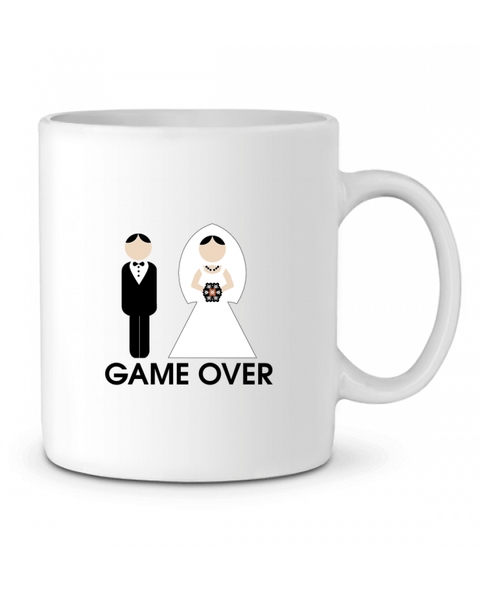 Ceramic Mug game over mariage by DUPOND jee