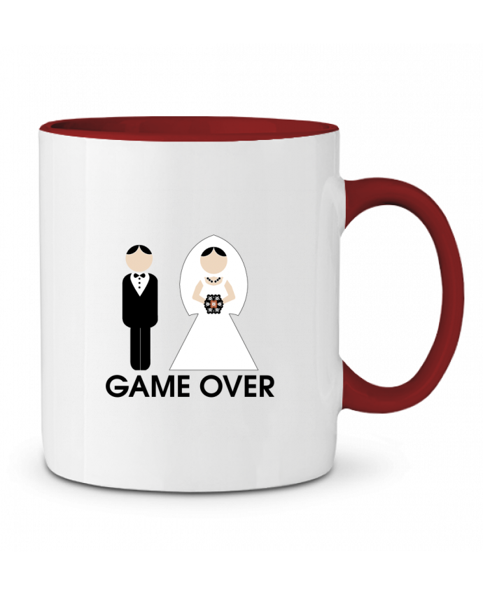 Two-tone Ceramic Mug game over mariage DUPOND jee