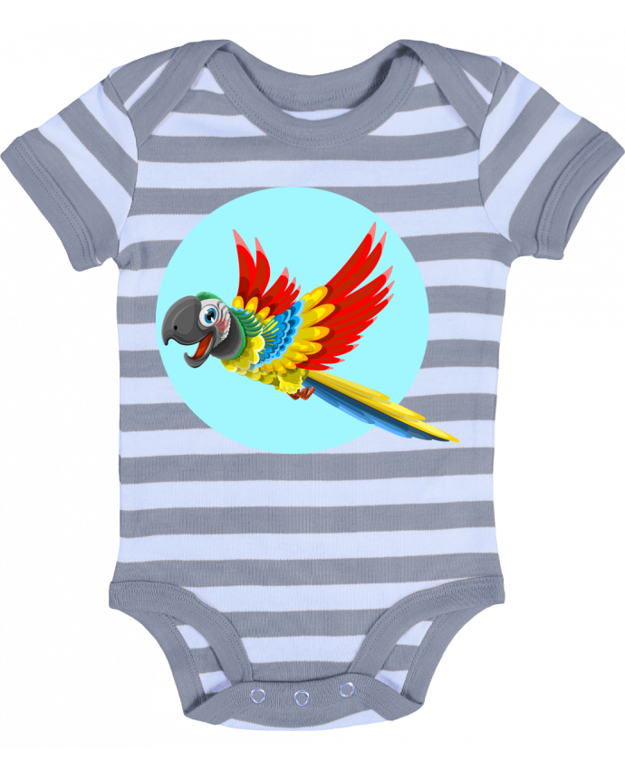 Baby Body striped Perroquet - Crazy-Patisserie.com