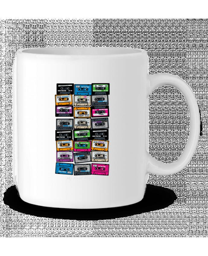 Ceramic Mug My First Playlist by PDT