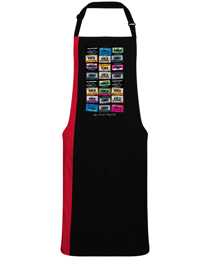 Two-tone long Apron My First Playlist by  PDT
