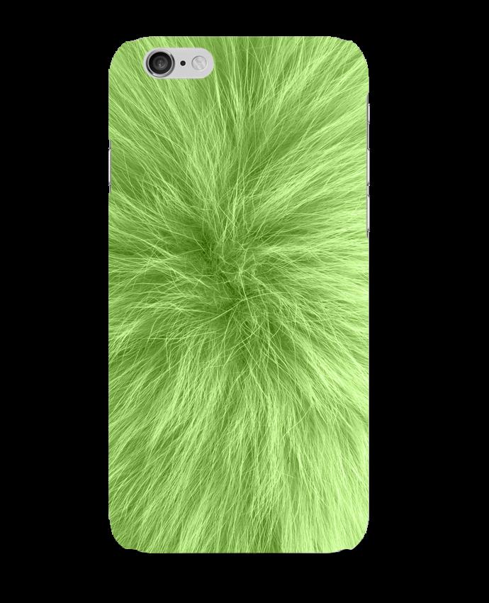 Case 3D iPhone 6 Fourrure vert pomme by Les Caprices de Filles