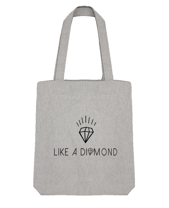 Tote Bag Stanley Stella Like a diamond by Les Caprices de Filles