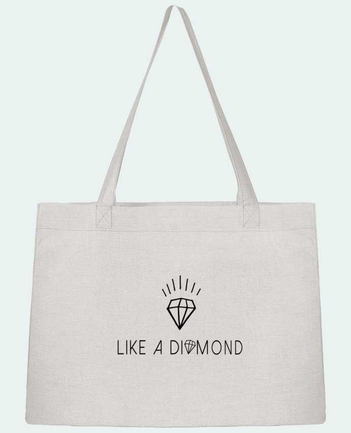 Shopping tote bag Stanley Stella Like a diamond by Les Caprices de Filles