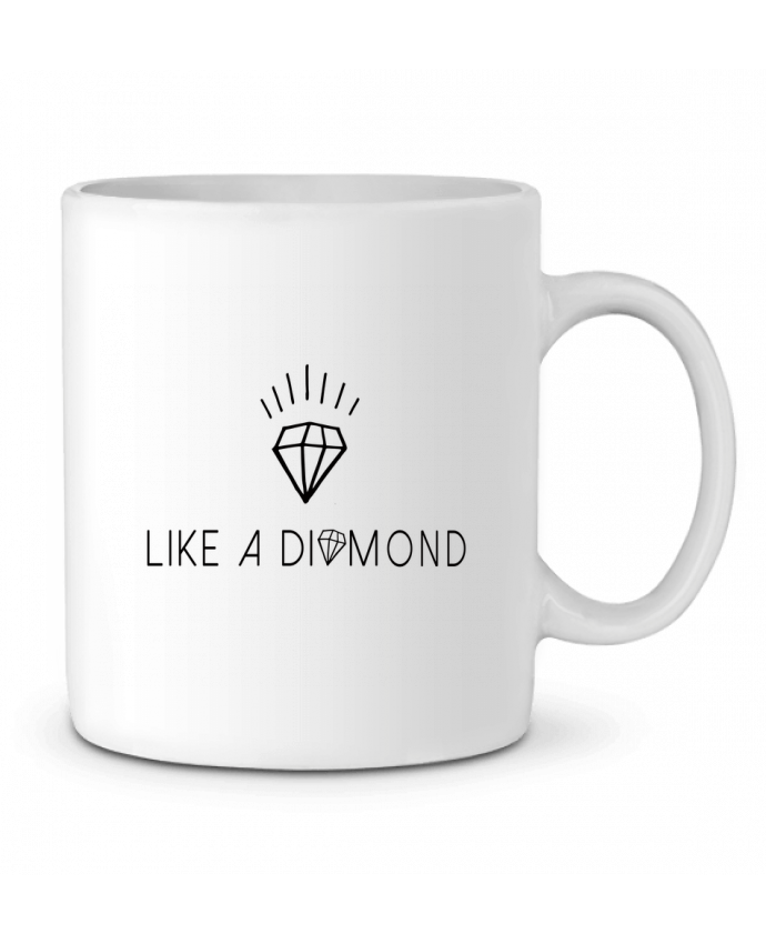 Ceramic Mug Like a diamond by Les Caprices de Filles