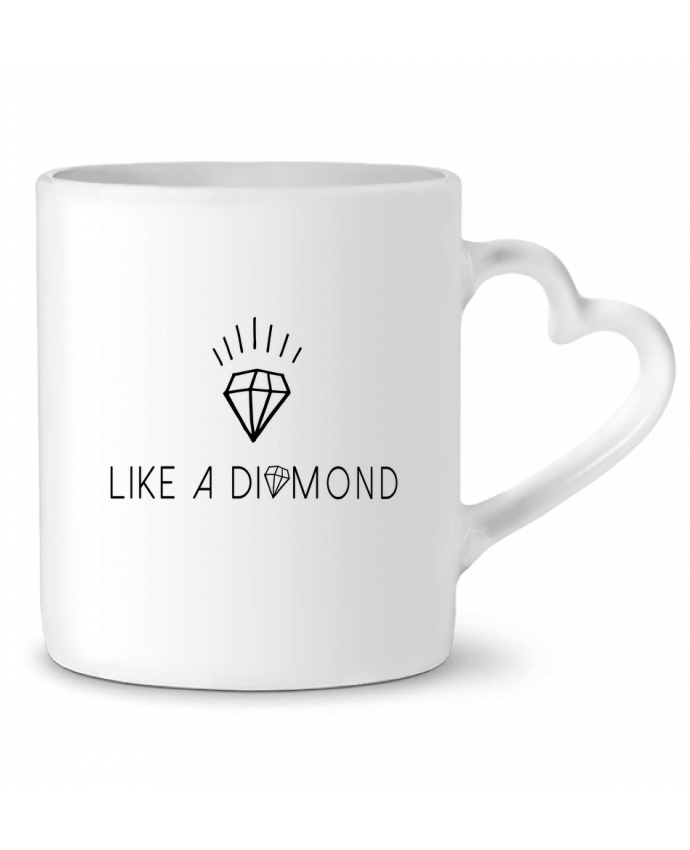 Mug Heart Like a diamond by Les Caprices de Filles