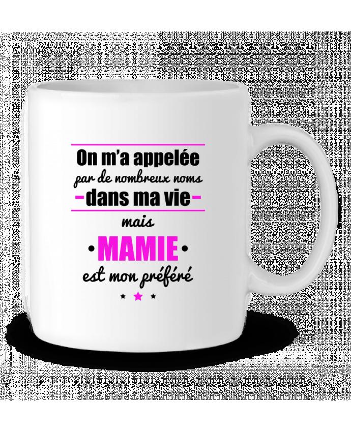 Ceramic Mug On m'a appelé by de nombreux noms dans ma vie mais mamie est mon préféré by Benichan