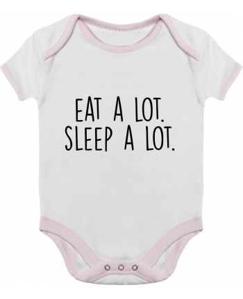 Baby Body Contrast Eat a lot. Sleep a lot. by Bichette