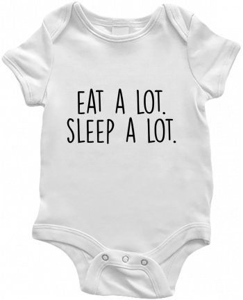 Baby Body Eat a lot. Sleep a lot. by Bichette