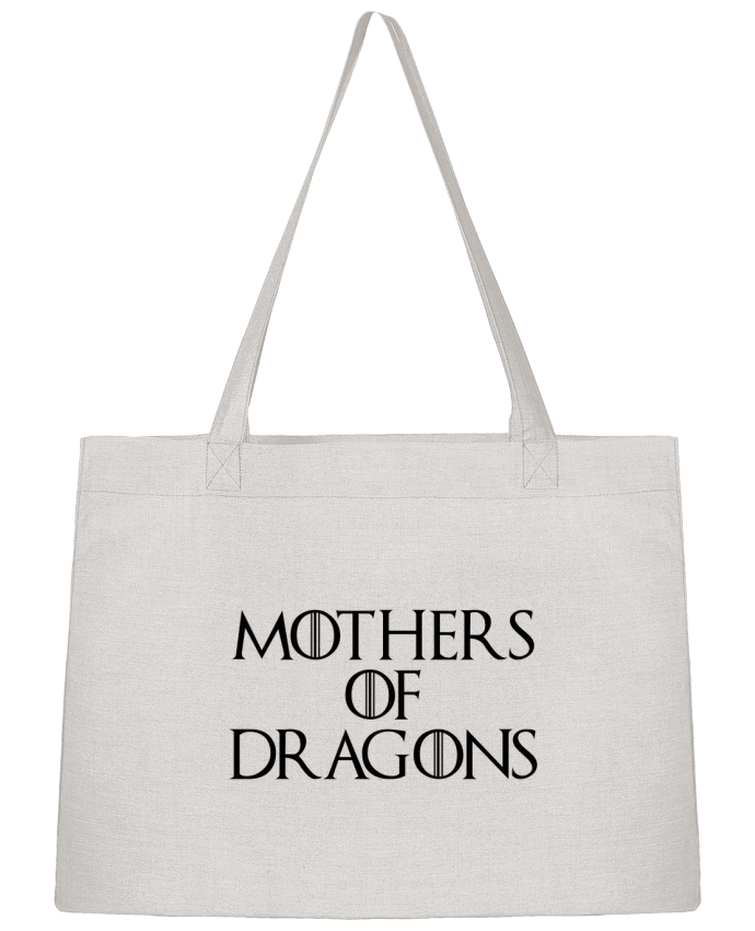 Shopping tote bag Stanley Stella Mothers of dragons by Bichette