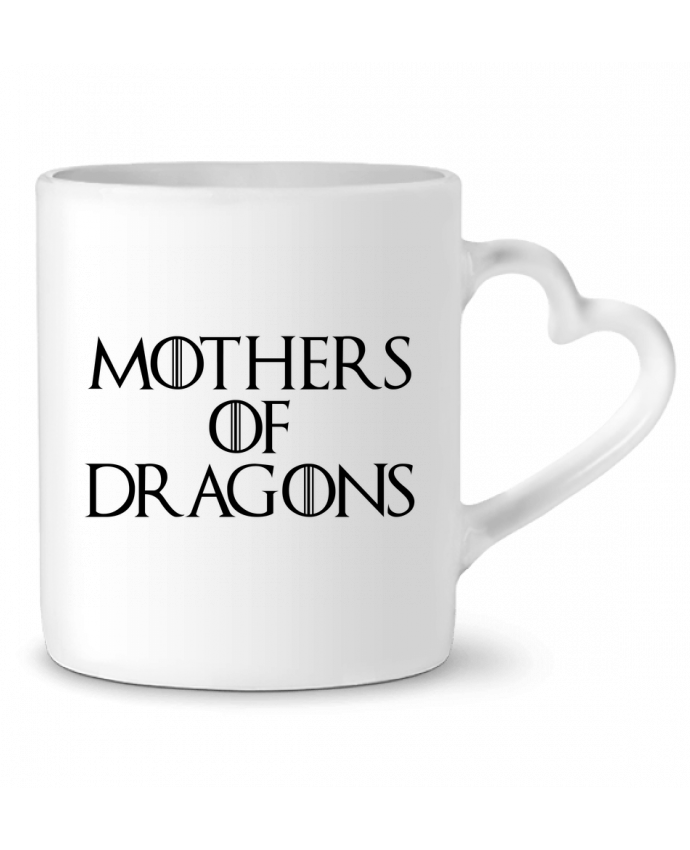 Mug Heart Mothers of dragons by Bichette