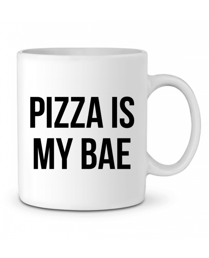 Ceramic Mug Pizza is my BAE by Bichette