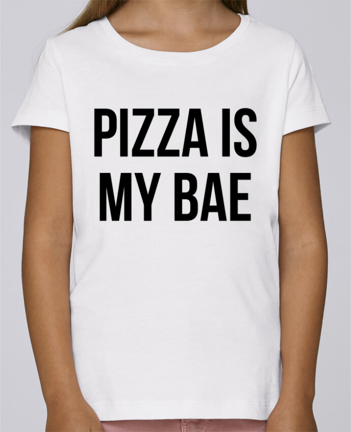 T-shirt Women Stella Draws Pizza is my BAE by Bichette