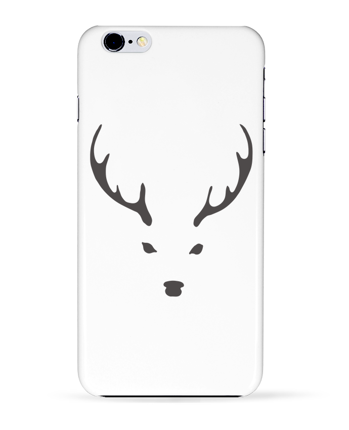 Case 3D iPhone 6+ WHITE DEER de Morozinka