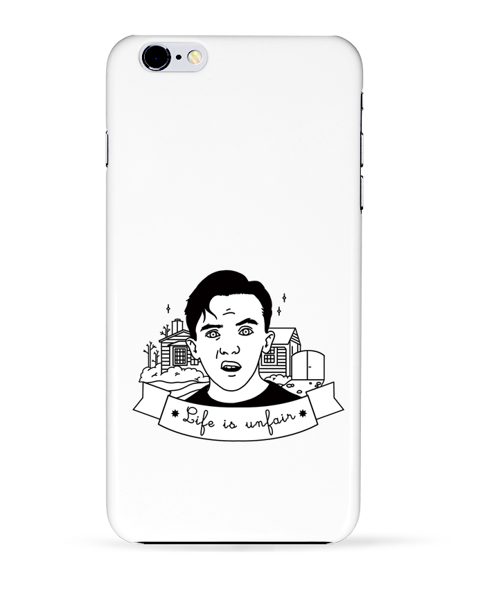 Case 3D iPhone 6+ Malcolm in the middle de tattooanshort