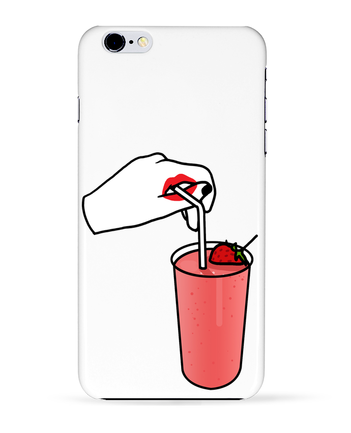 Case 3D iPhone 6+ Milk shake de tattooanshort