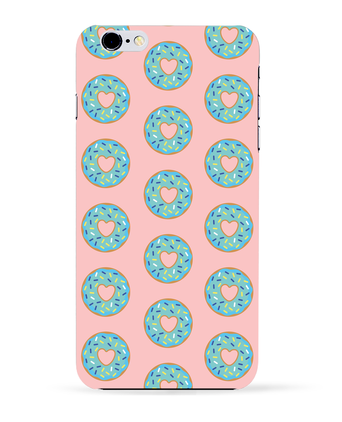 Case 3D iPhone 6+ Donut coeur de tunetoo